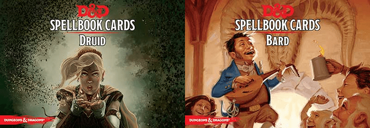 Spell Cards D&d 5e D&d 5e Bard And Druid