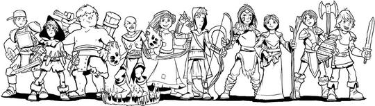 Hero Kids - Hero Line-Up - 540x153