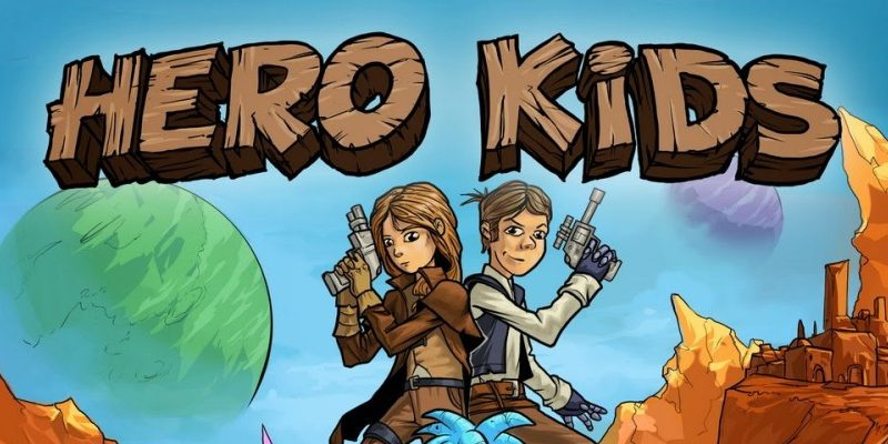 Hero Kids - Space Heroes - Cover - Landscape - 1200x885