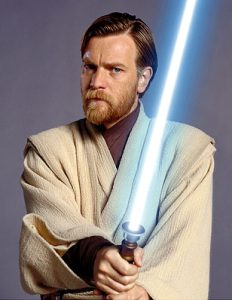 Ewan McGregor plays the stalwart Obi-Wan Kenobi in Star Wars: Episode III Revenge of the Sith. TM & © 2005 Lucasfilm Ltd. All Rights Reserved.