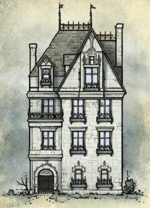 death house exterior