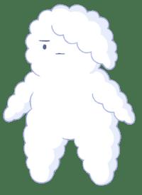 cloud-person