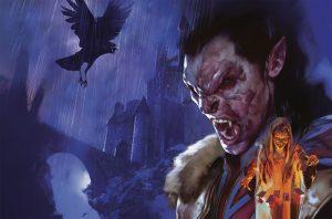 Curse of Strahd - Key Art - Madam Eva - Vampire Strahd